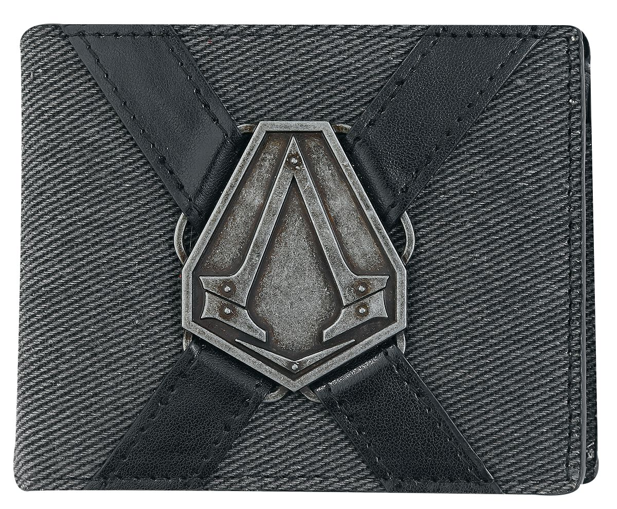 Image of   Assassin's Creed Syndicate - Metal Badge Pung brun-sort