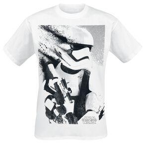 Star Wars Épisode 7 - Le Réveil De La Force - Stormtrooper Splatter T-shirt blanc