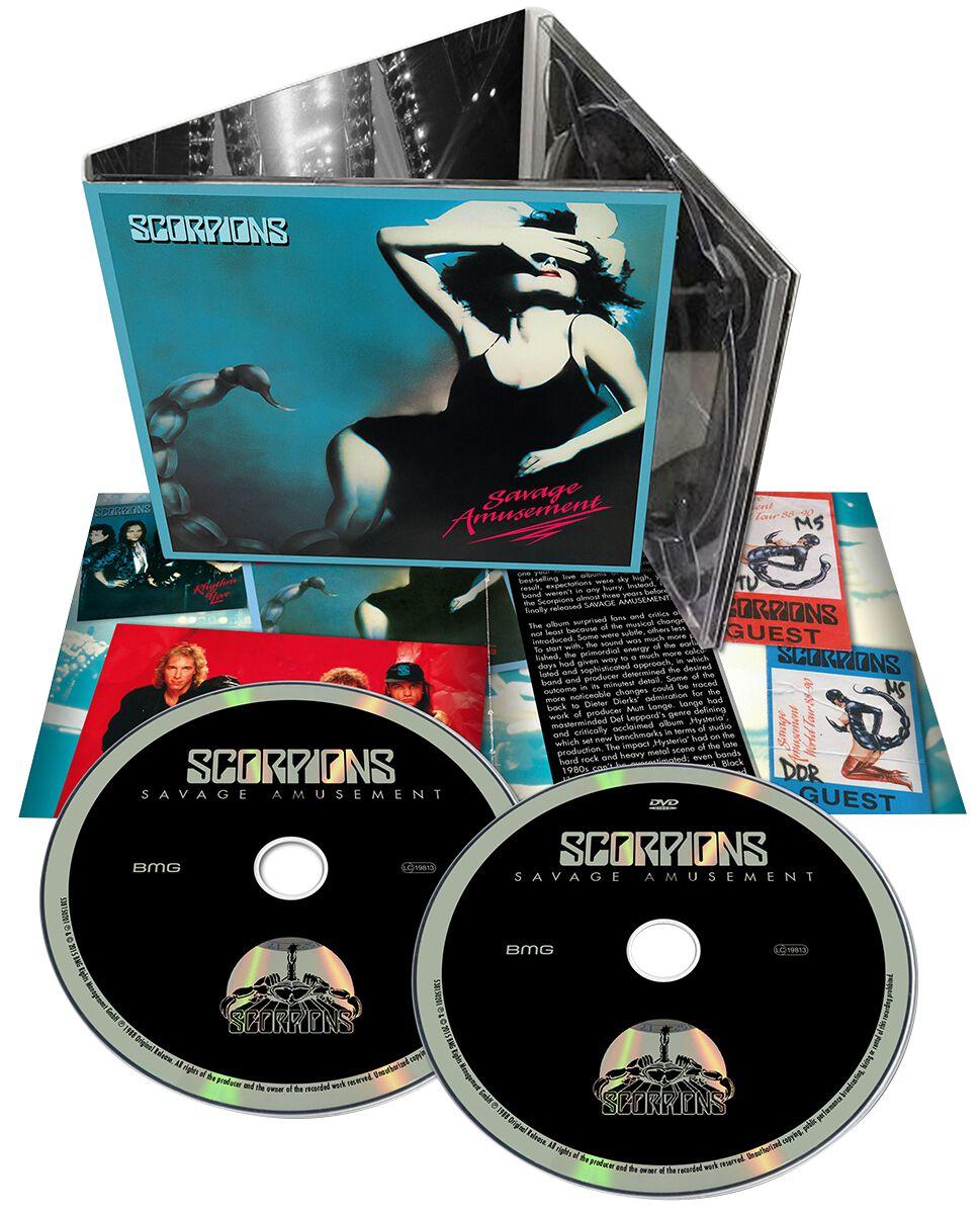 Scorpions Savage amusement CD & DVD Standard
