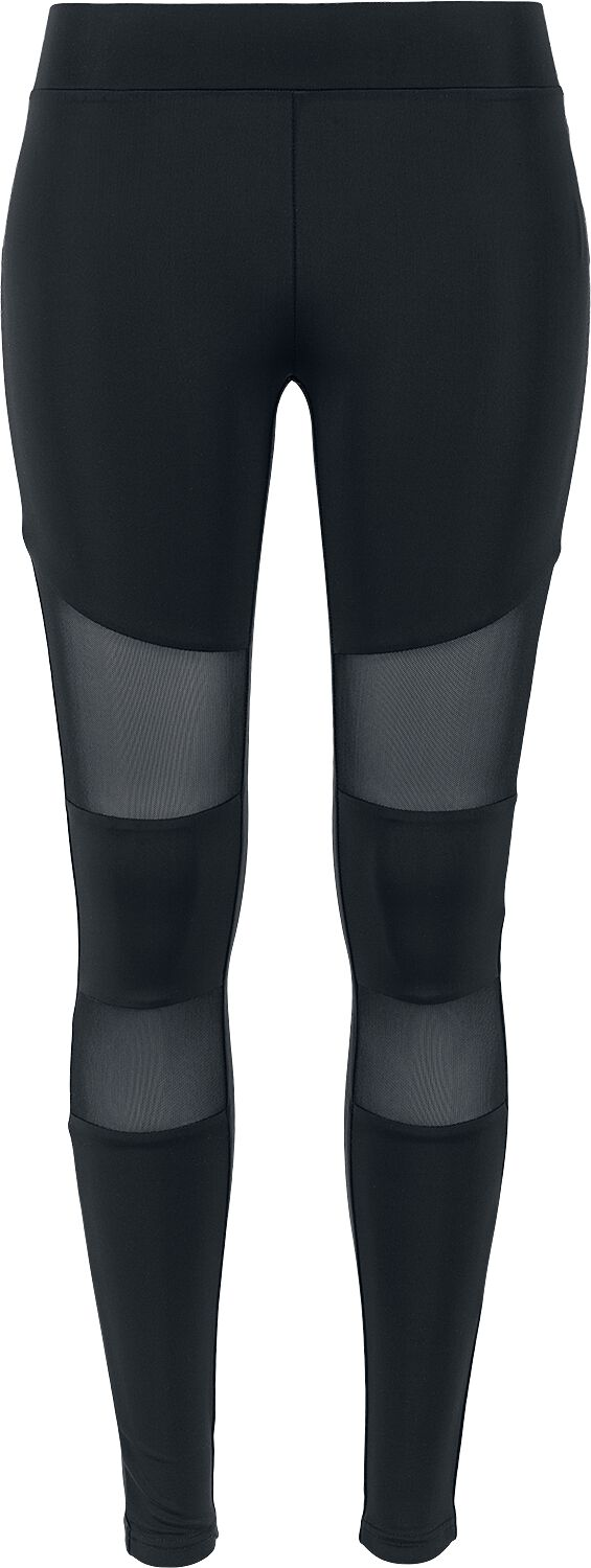 8104e78d Urban Classics Ladies Tech Mesh Leggings Leggings sort