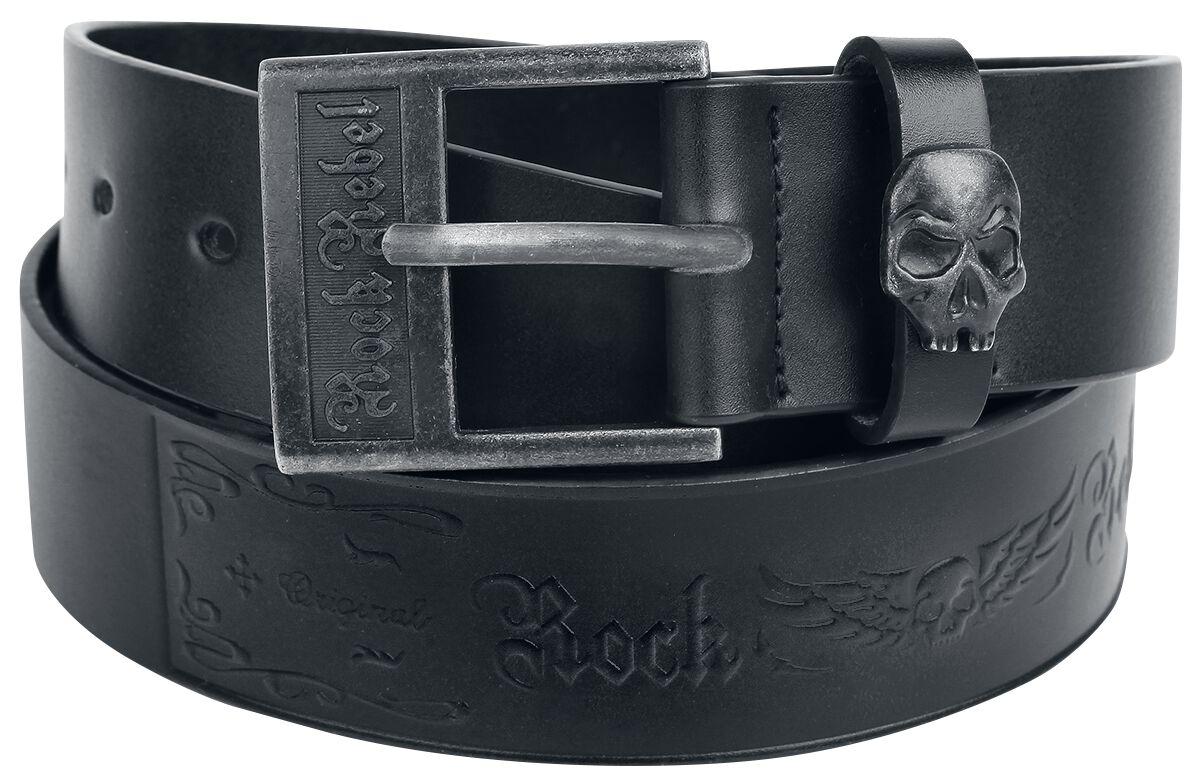 Guertel für Frauen - Rock Rebel by EMP Decorate Your Belt Gürtel schwarz  - Onlineshop EMP