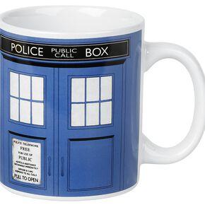 Doctor Who Mug blanc
