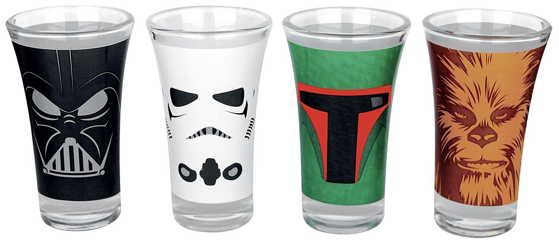 Image of   Star Wars Characters Shotglas, sæt Standard