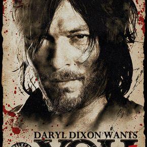 The Walking Dead Daryl Dixon - Survive Poster multicolore