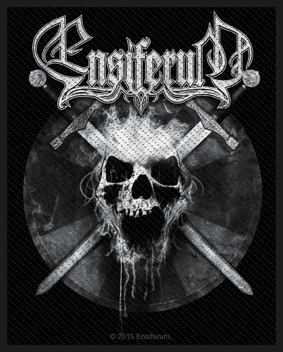 Zespoły - Naszywki - Naszywka Ensiferum Skull Naszywka standard - 321412