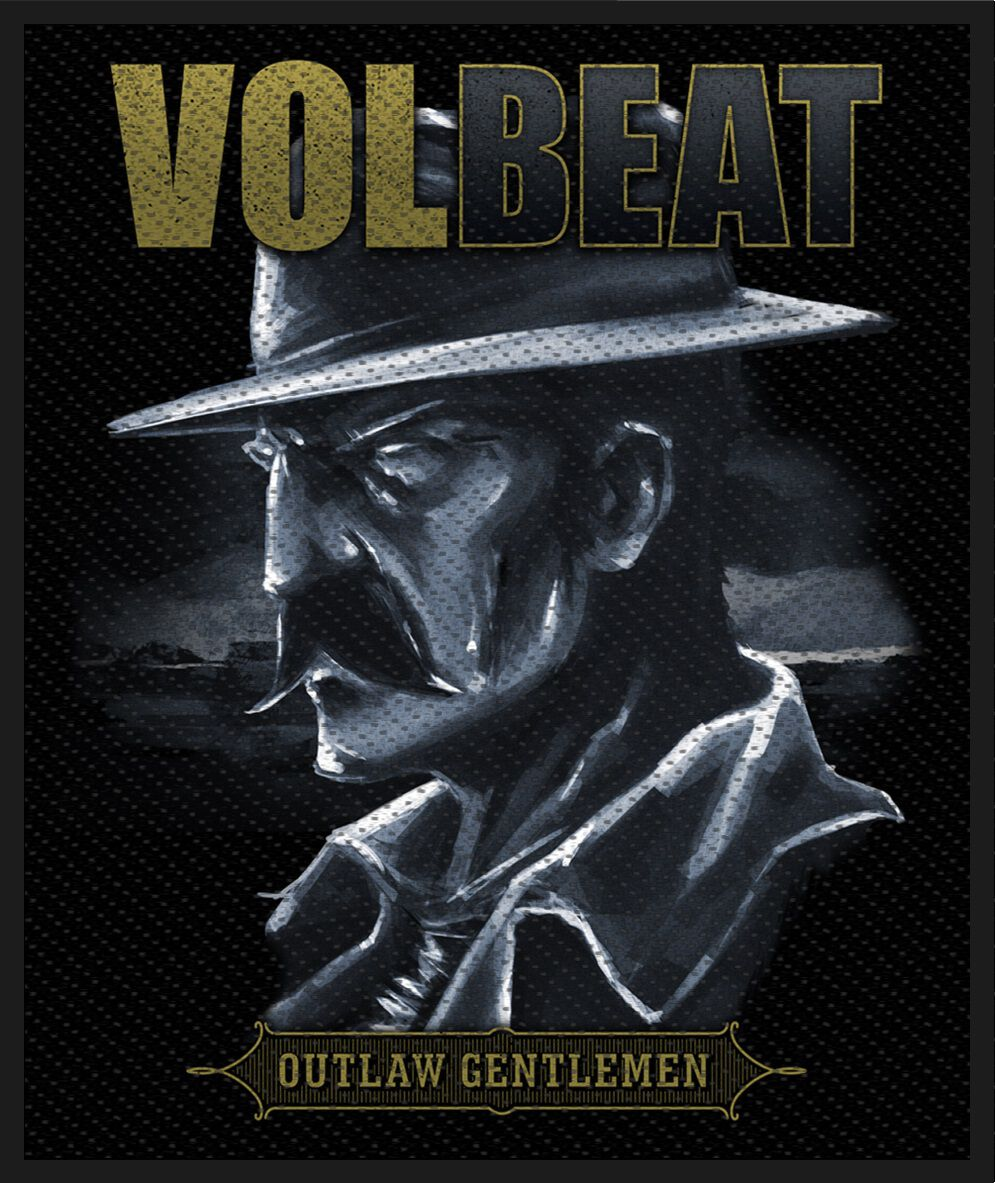 Image of   Volbeat Outlaw Gentlemen Patch standard