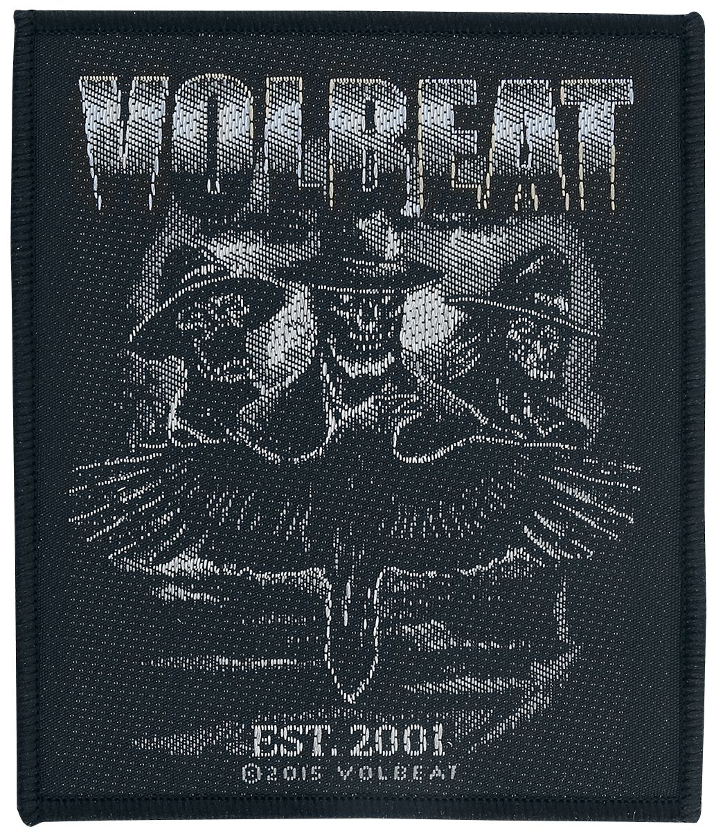 Image of   Volbeat Outlaw Raven Patch standard