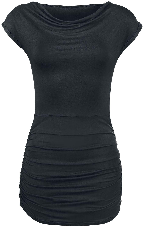 Image of   Forplay Gathered Shirt Girlie trøje sort