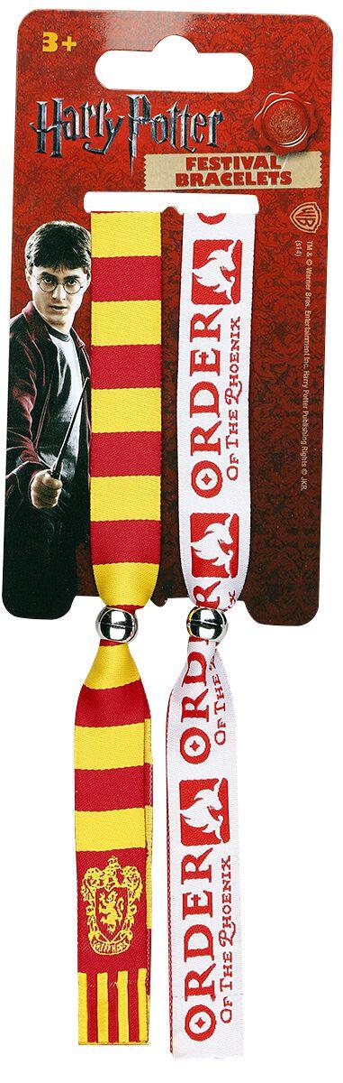 Image of   Harry Potter Gryffindor - festivalarmbånd Armbånd Standard