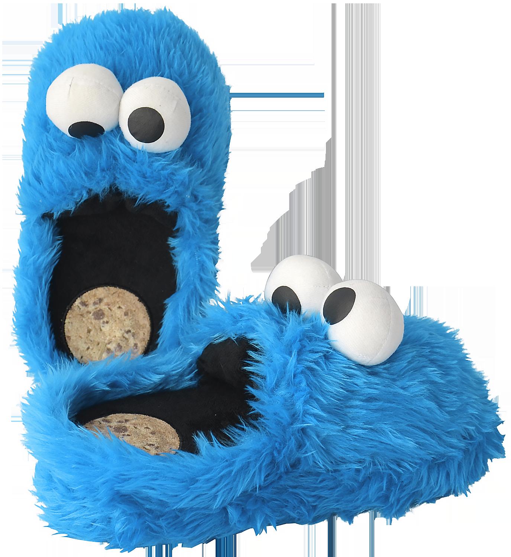 Sesame Street - Cookie Monster - Slippers - royal blue