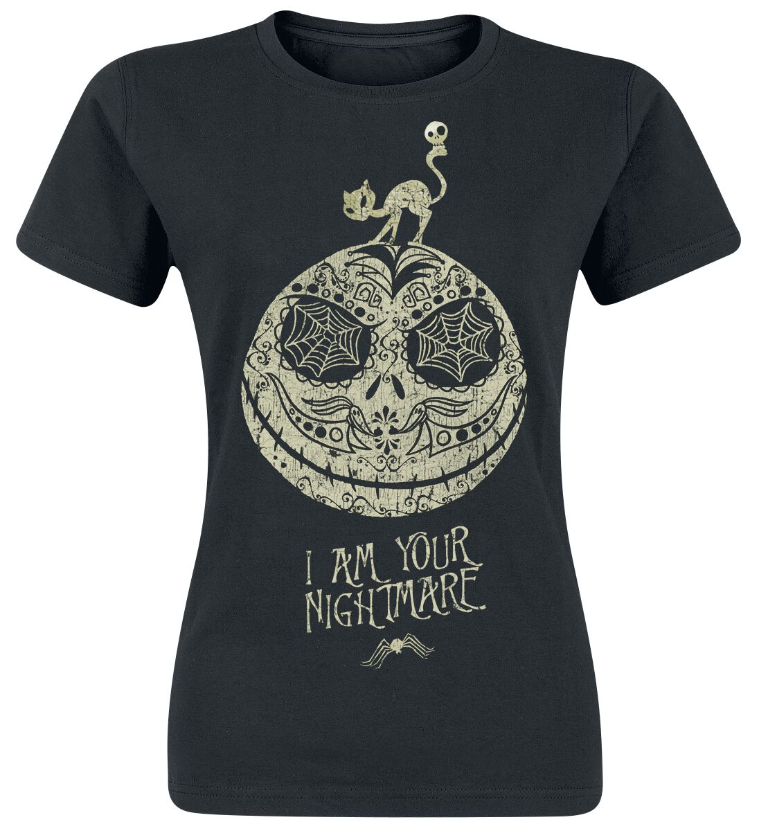 Image of   The Nightmare Before Christmas Jack - I Am Your Nightmare Girlie trøje sort