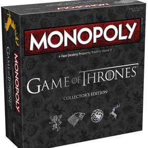 Game Of Thrones Monopoly Jeu de Société Standard