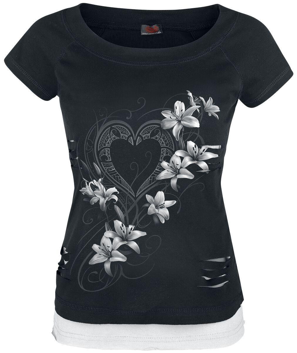 Spiral Pure Of Heart Koszulka damska czarny