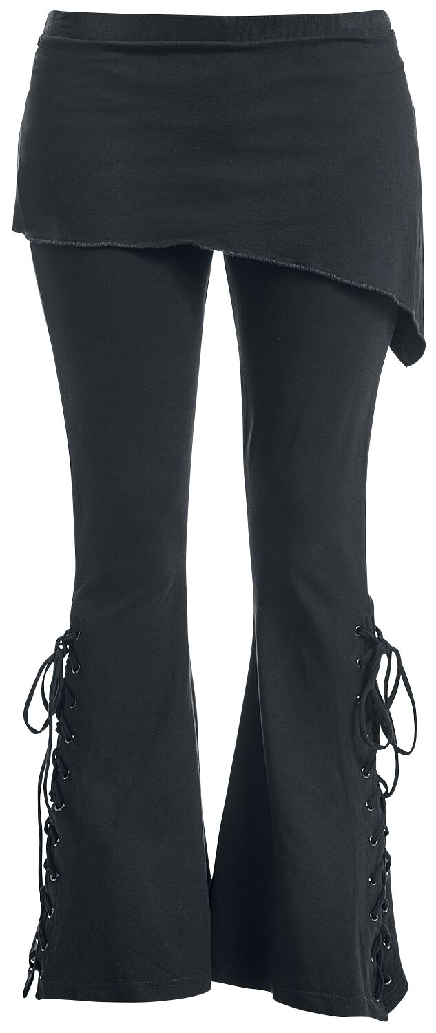 Image of   Gothicana by EMP Bootcut Leggings Leggings sort