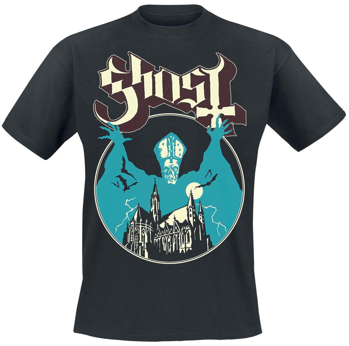 Zespoły - Koszulki - T-Shirt Ghost Opus T-Shirt czarny - 322512