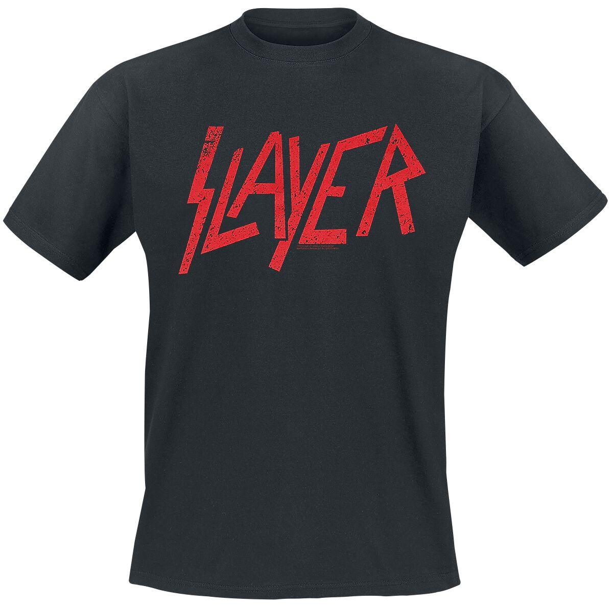 Image of   Slayer Logo T-Shirt sort