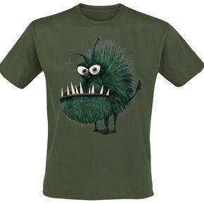 Les Minions Kyle T-shirt olive
