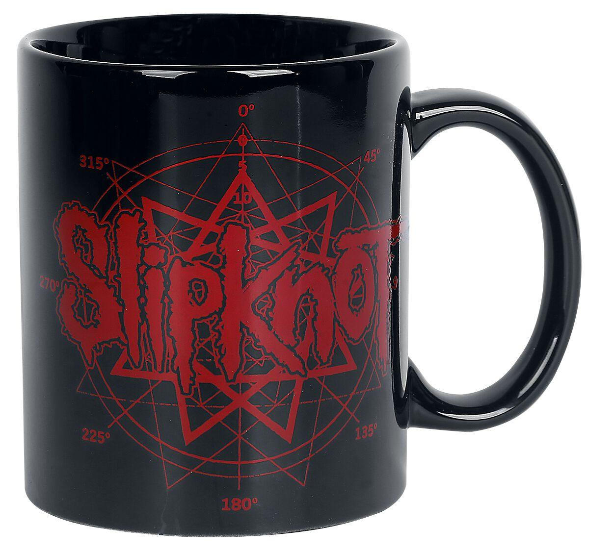 Image of   Slipknot Logo Krus sort
