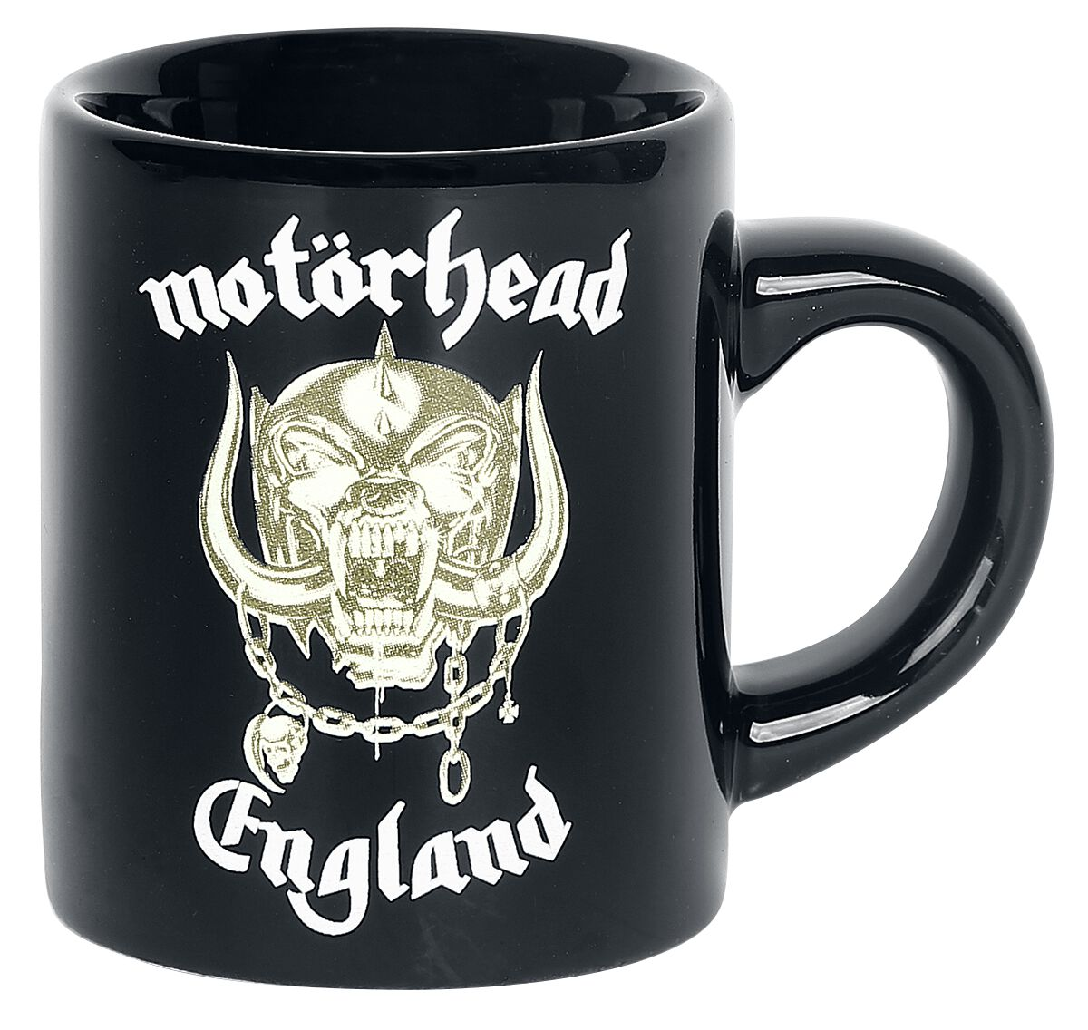 Image of   Motörhead England - Espresso kop Krus sort