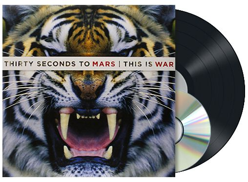 Image of   30 Seconds To Mars This is war LP & CD standard