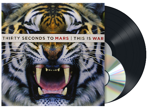 30 Seconds To Mars - This is war - LP & CD - standard