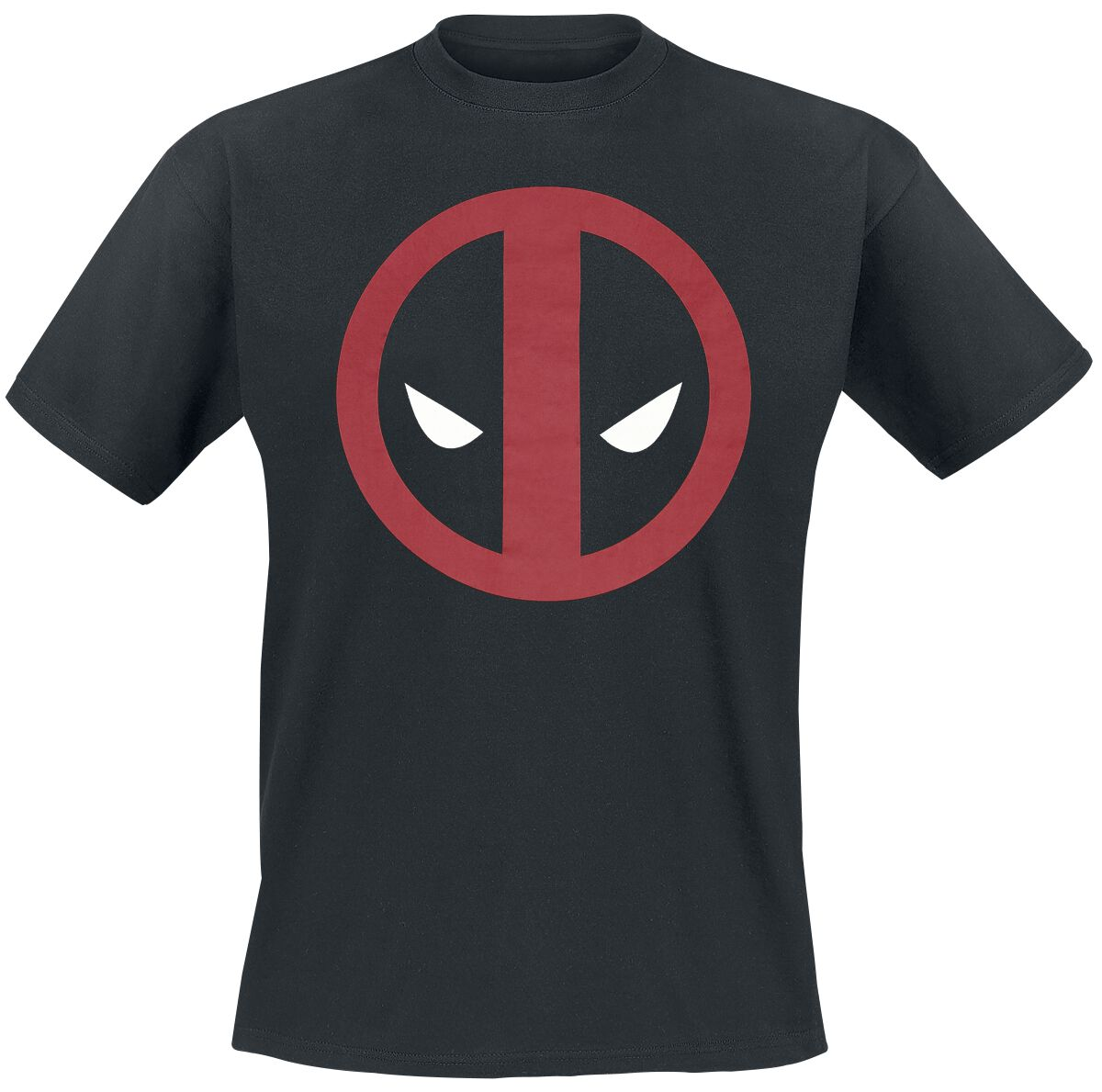 Image of   Deadpool Logo T-Shirt sort