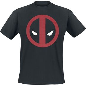 Deadpool Logo T-shirt noir