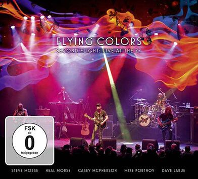 Image of Flying Colors Second flight: Live at the Z7 2-CD & DVD Standard