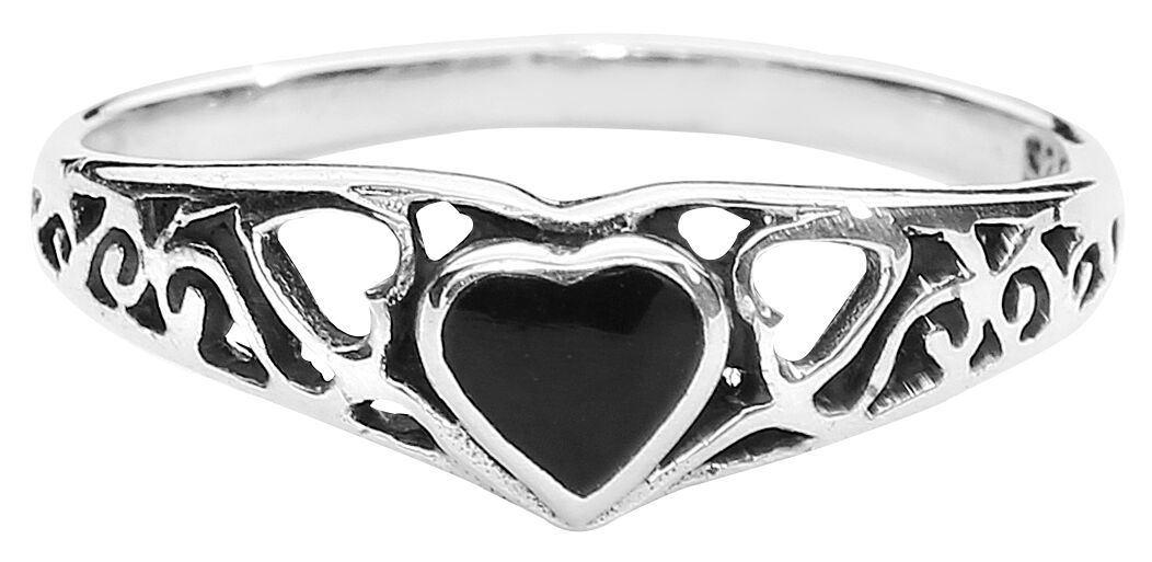 Basics - Pierścienie - Pierścień Fine Heart Ring Pierścień standard - 323773
