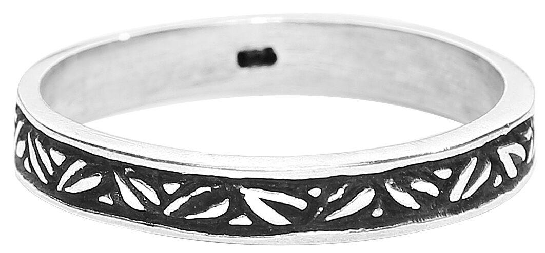 Basics - Pierścienie - Pierścień Fine Leaves Ring Pierścień standard - 323778