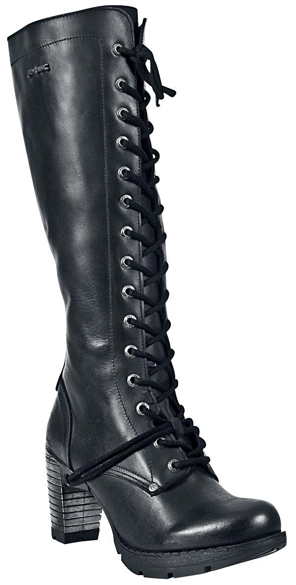 Stiefel für Frauen - New Rock Trail Stiefel schwarz  - Onlineshop EMP