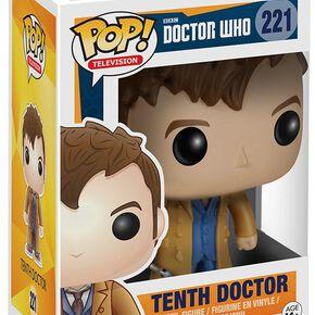 Figurine Pop! 10ème Docteur Doctor Who