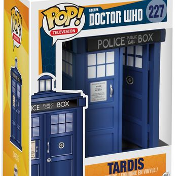 Figurine Pop! Doctor Who Tardis 15 cm