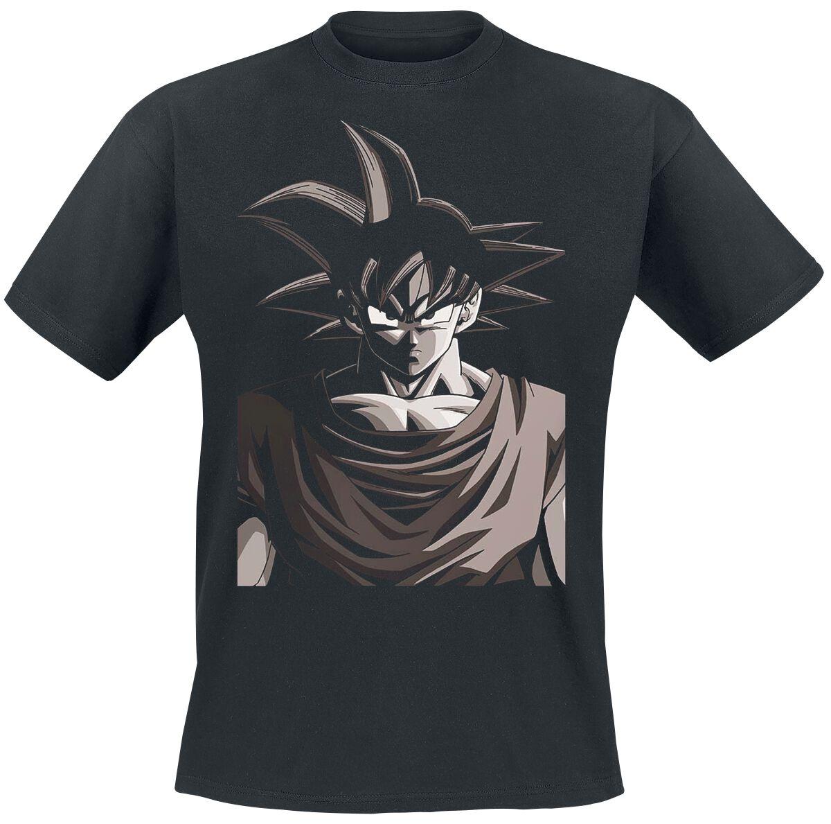 Merch dla Fanów - Koszulki - T-Shirt Dragon Ball Z - Son Goku - Picture T-Shirt czarny - 324692