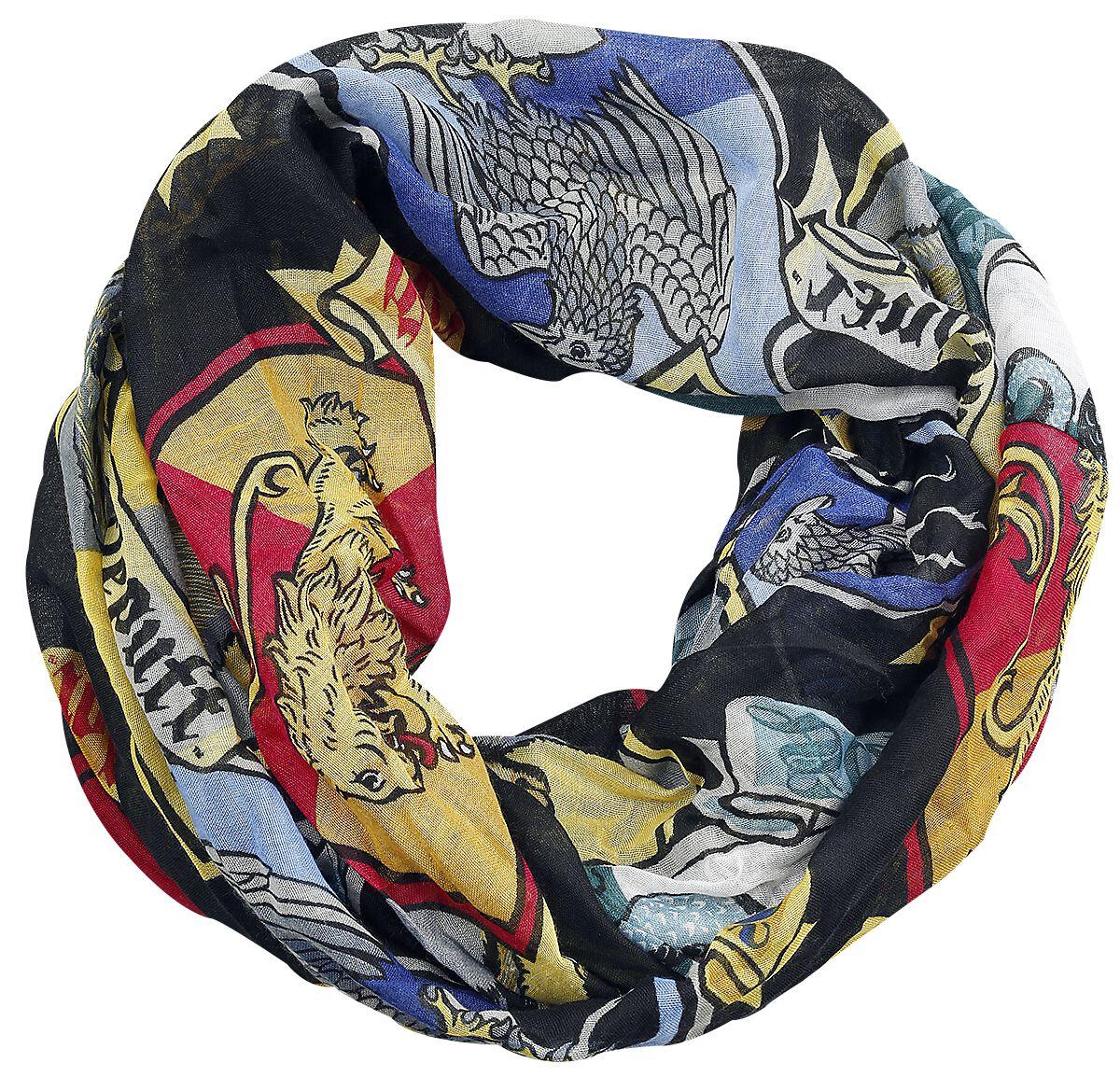 Image of   Harry Potter Crest Halstørklæde multifarvet