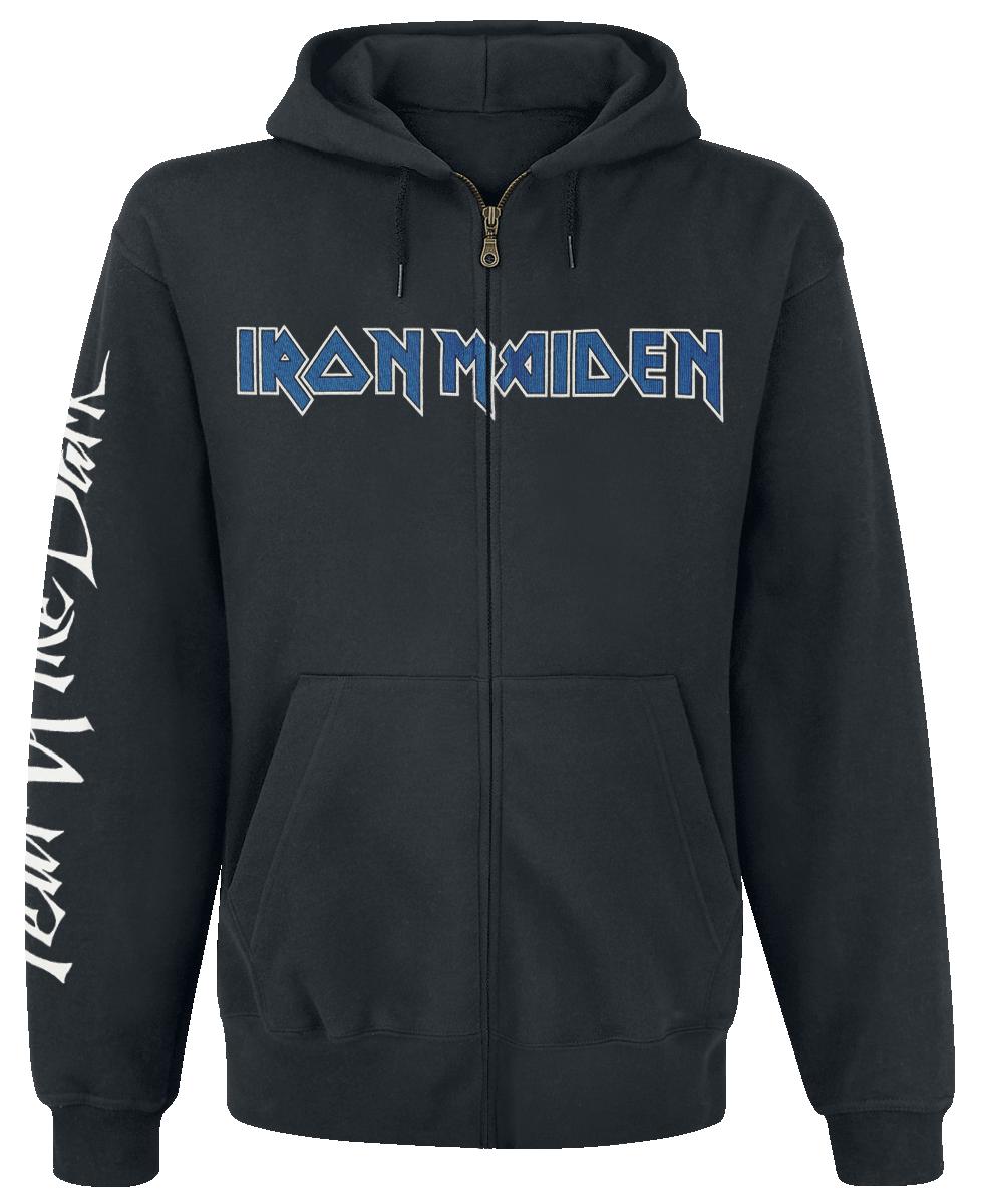 Iron Maiden - Fear of the dark - Hooded zip - black image