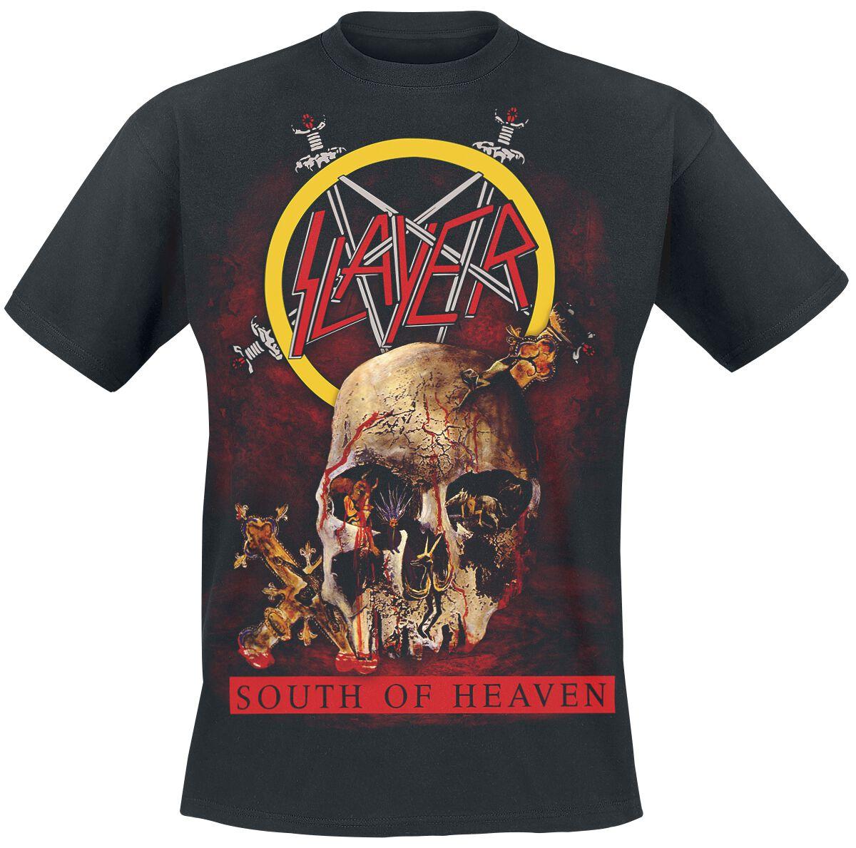 Image of   Slayer South Of Heaven T-Shirt sort