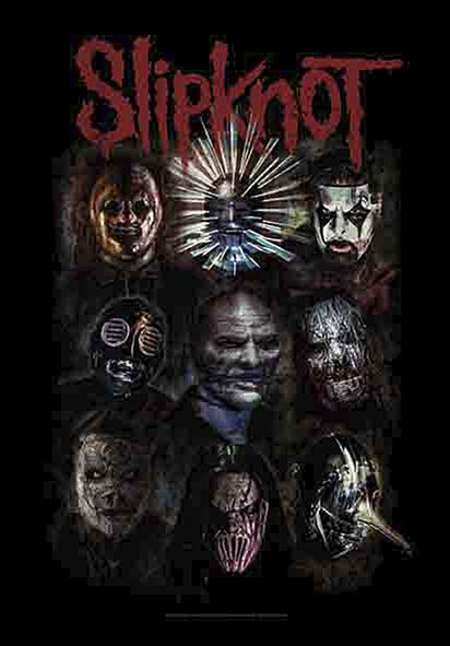 Image of   Slipknot Oxidized Flag standard