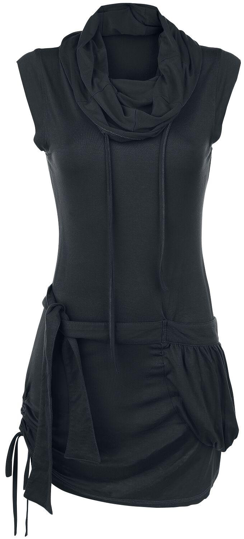 Image of   Forplay High Neck Dress Kjole sort