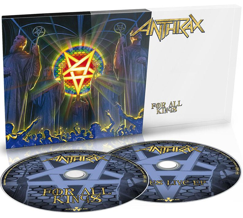 Image of Anthrax For all kings 2-CD Standard