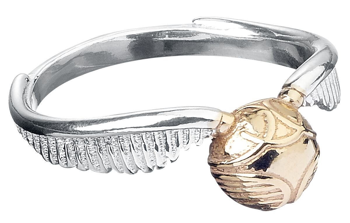 Image of   Harry Potter Golden Snitch Ring Standard