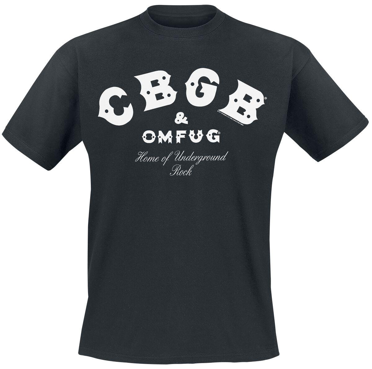 CBGB Vintage T-Shirt schwarz