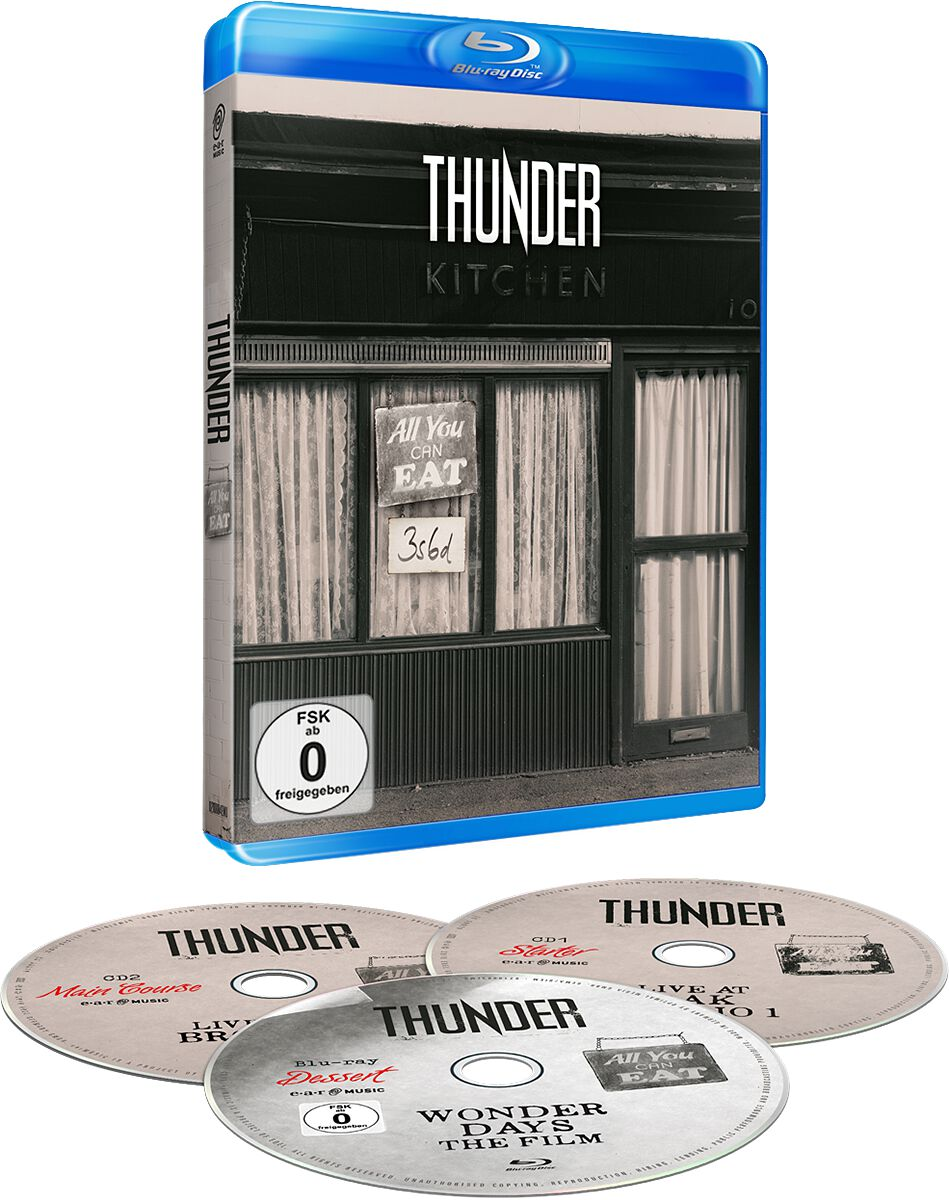 Image of Thunder All you can eat Blu-ray & 2-CD Standard