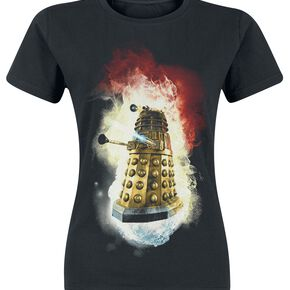 Doctor Who Dalek - You Will Obey T-shirt Femme noir
