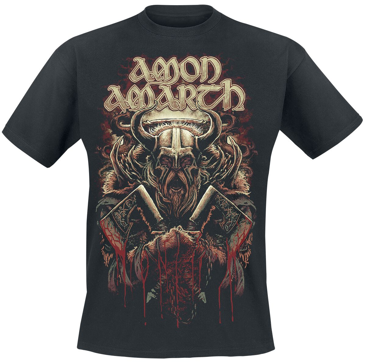Image of   Amon Amarth Viking T-Shirt sort