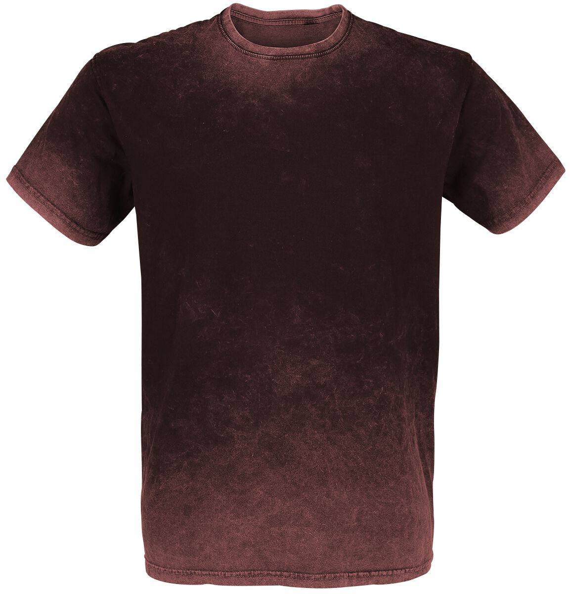 Image of   Outer Vision Retro Stone T-Shirt bordeaux