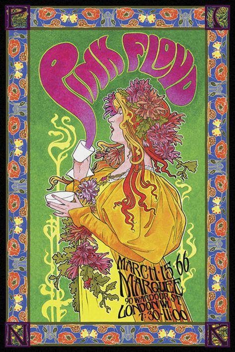 Image of   Pink Floyd Bob Masse Tourposter Plakat Standard