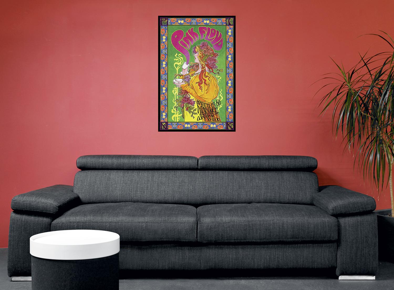 pink floyd bob masse tourposter poster standard ebay. Black Bedroom Furniture Sets. Home Design Ideas