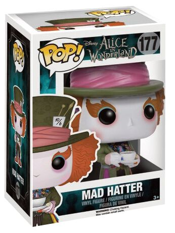 Alice im Wunderland Mad Hatter Vinyl Figure 177...
