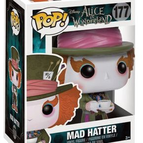 Figurine Pop! Disney Alice au Pays des Merveilles le Chapelier Fou